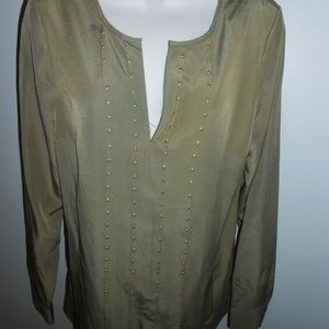 Ladies Long Sleeve Michael Kors Blouse